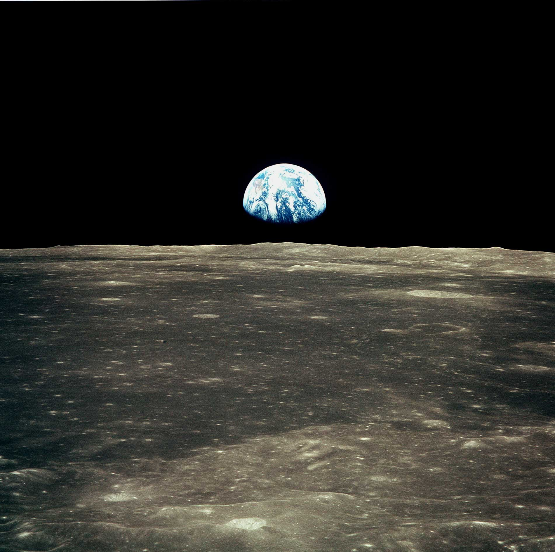 earth from the moon nasa - photo #32