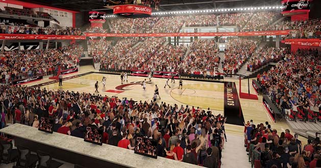Renovating Fifth Third Arena