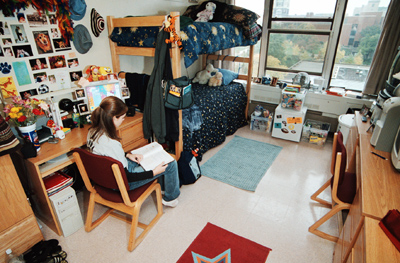 A Dorm Room. Living On Campus Lets Students Influence Their Living  Environment, Gain Valuable Learning Experiences And Build Lasting  Relationships. Part 36