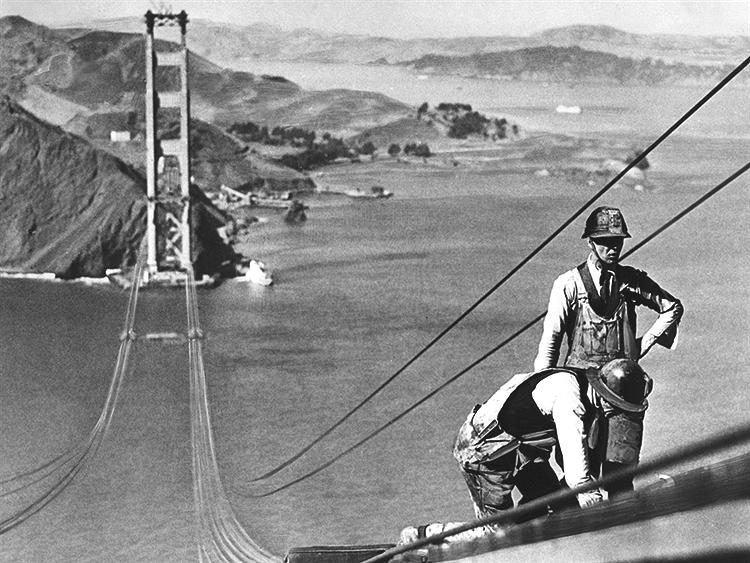 f3af2364b73ee The Man With Golden Gate Bridge Of Cincinnati. Golden Gate Bridge. How  Engineers Would Build The Golden Gate Bridge Today Business