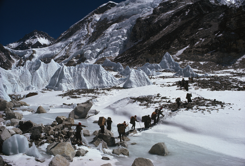 National Geographicu0027s American Expedition Up Mount Everest In 1963. Photo  By Bishop, Natu0027l Geo. [+]