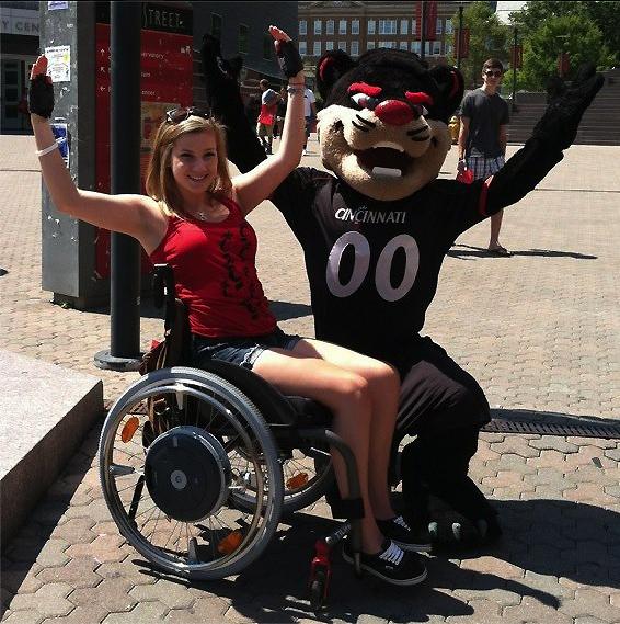 Sara Whitestone Won T Allow Her Wheelchair Or Disease To