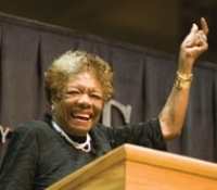 Maya Angelou on campus