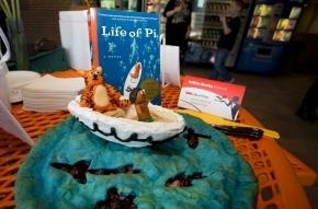 Edible books festival at University of Cincinnati
