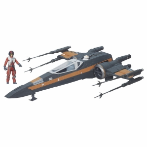 Star Wars Poe Dameron's X-Wing Vehicle orange.
