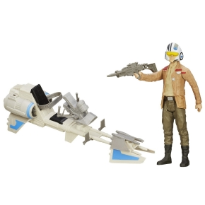Star Wars Speeder Bike Figure and Vehicle