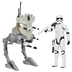 Star Wars Assault Walker and vehicle