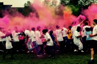 Holi Festival of Colors at the University of Cincinnati