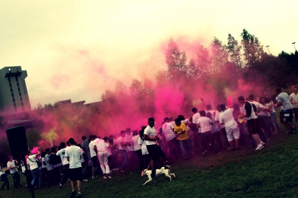 Image Gallery: Holi Festival of Colors at the University of Cincinnati