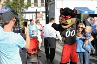 University of Cincinnati celebrates Homecoming with parade, pep rally and win vs. Miami.