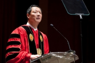President Santa Ono's Investiture and pep rally