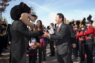 University of Cincinnati names Santa Ono as 28th president, Oct. 23, 2012.