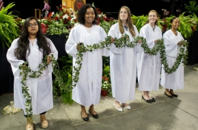 Grads celebrate at commencement