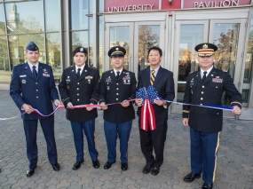 University of Cincinnati Veterans Day Ceremony, Nov. 9, 2012