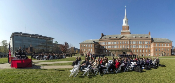 UC pauses to honor its veterans, Nov. 9, 2012