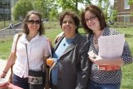 Professors attend Worldfest.