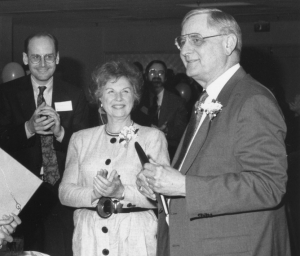 Dean Ernest Muntz at his retirement