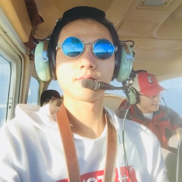 Learning to fly a plane.