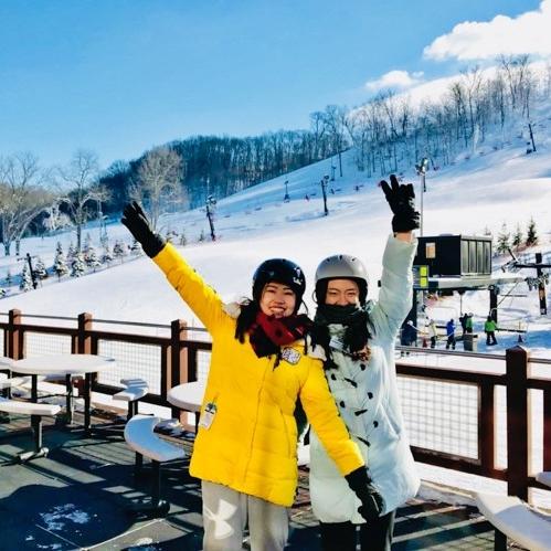 Ski trip.