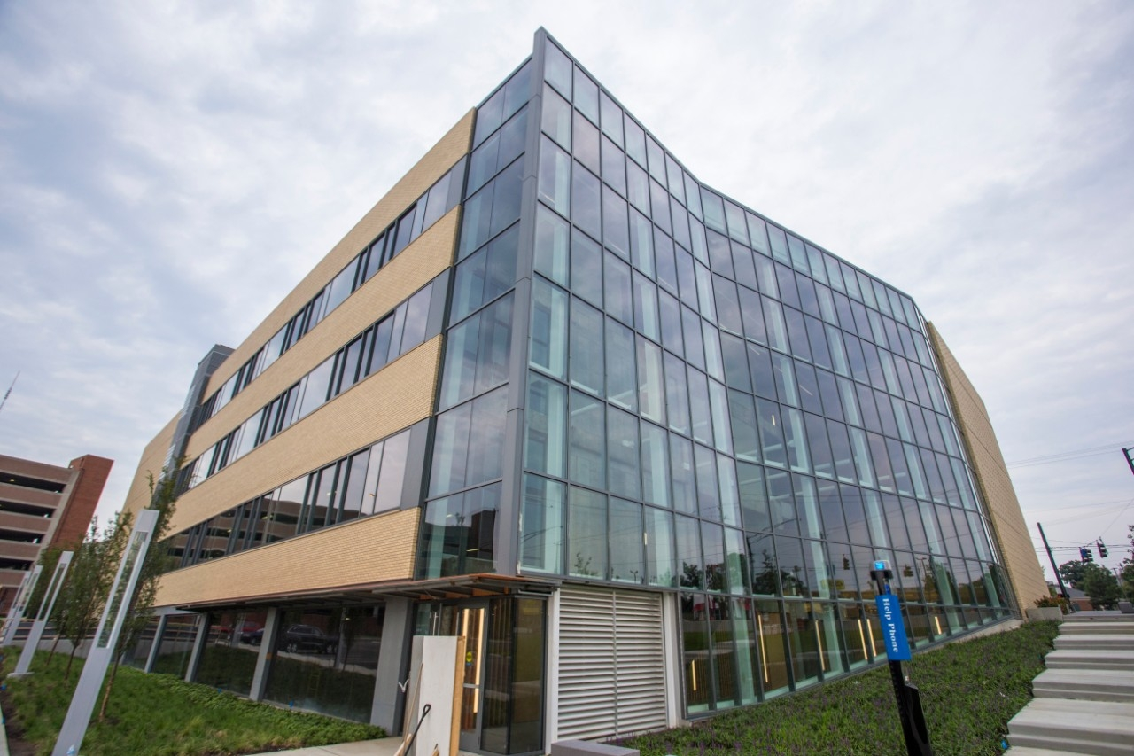 The 1819 Innovation Hub on Reading Road. (Andrew Higley/UC Creative Services)
