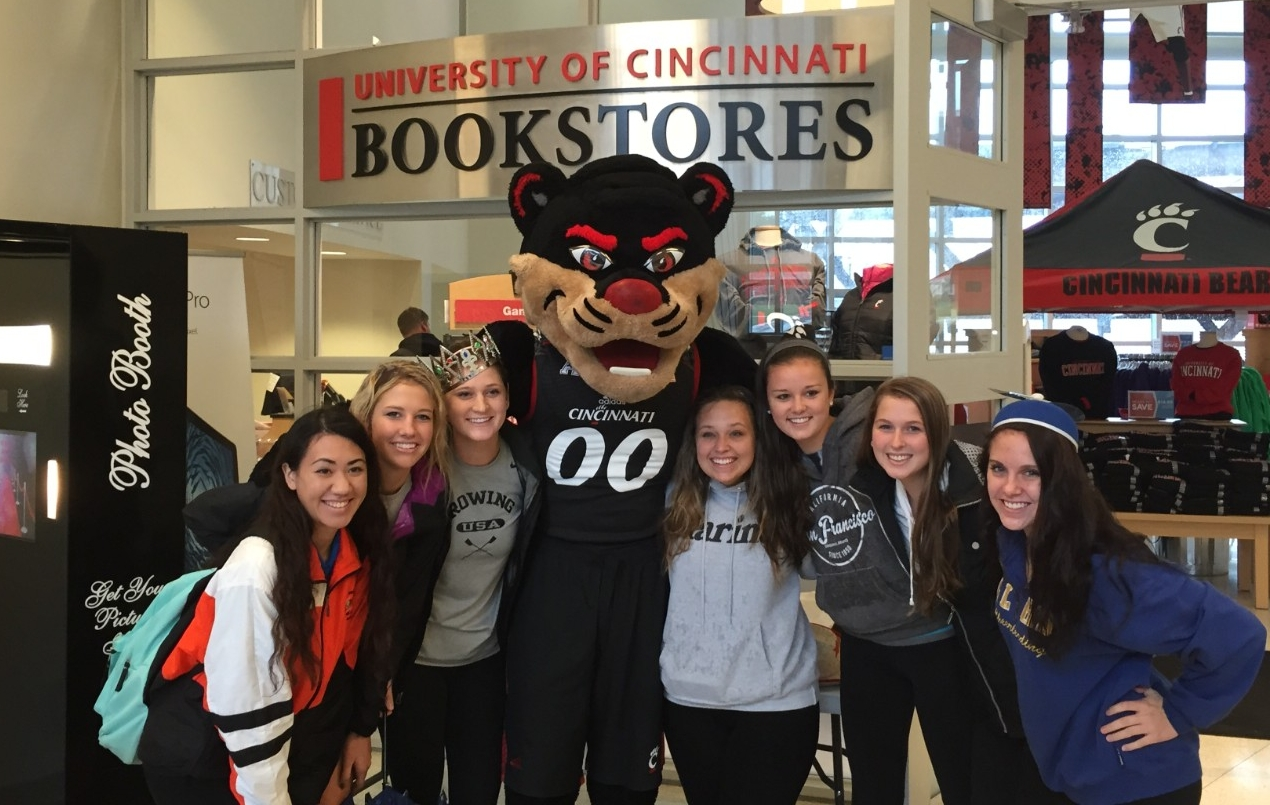 If students find a textbook from Amazon, Barnes & Noble or a local campus competitor that is in similar condition to the one in the university bookstore, UC Bookstores will match the outside price.