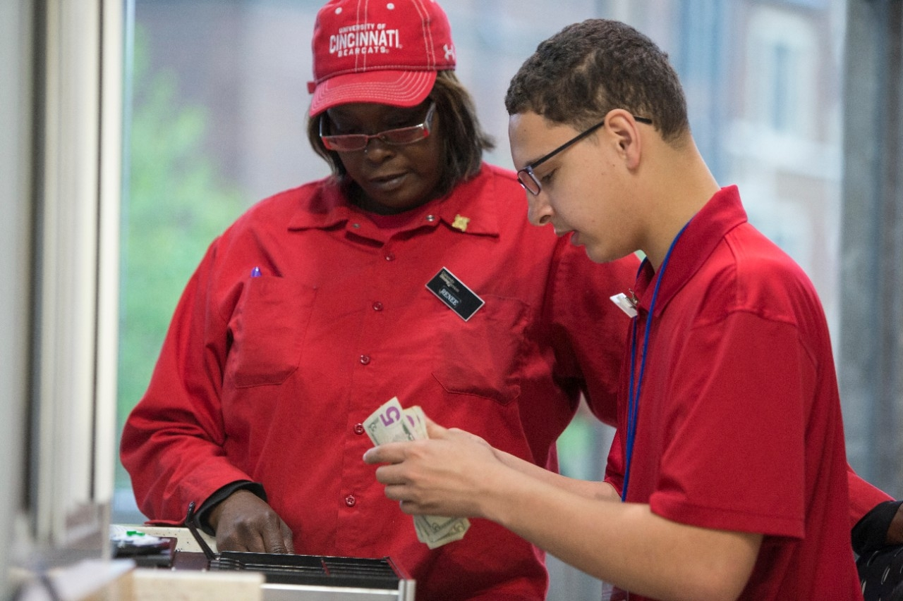 UC is working with Aramark to help employ workers with disabilities. (Andrew Higley/UC Creative Services)