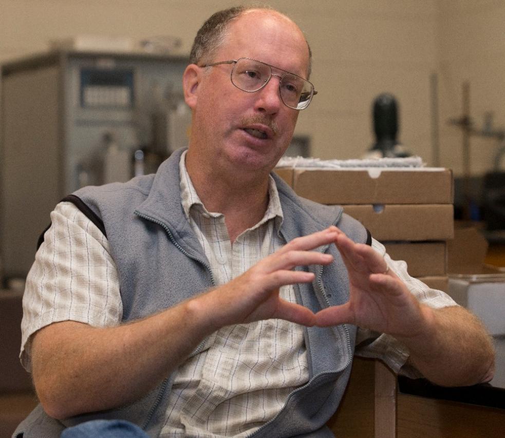 UC professor of geology Thomas Algeo