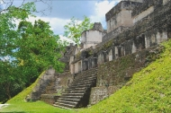 Residential palace of the great lords of Tikal in the Central Acropolis.