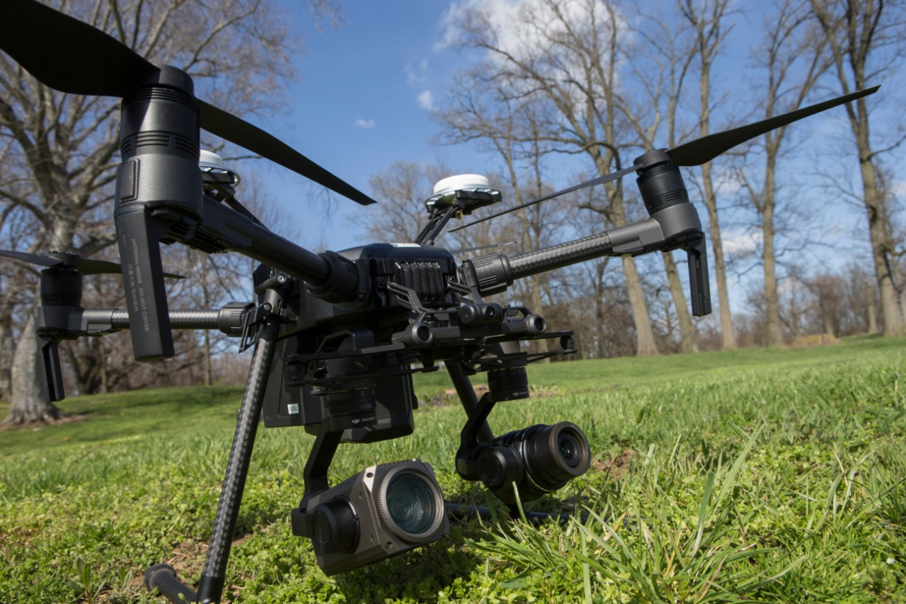 UC's drones have multiple cameras to capture images or video for remote viewing, data collection and analysis.