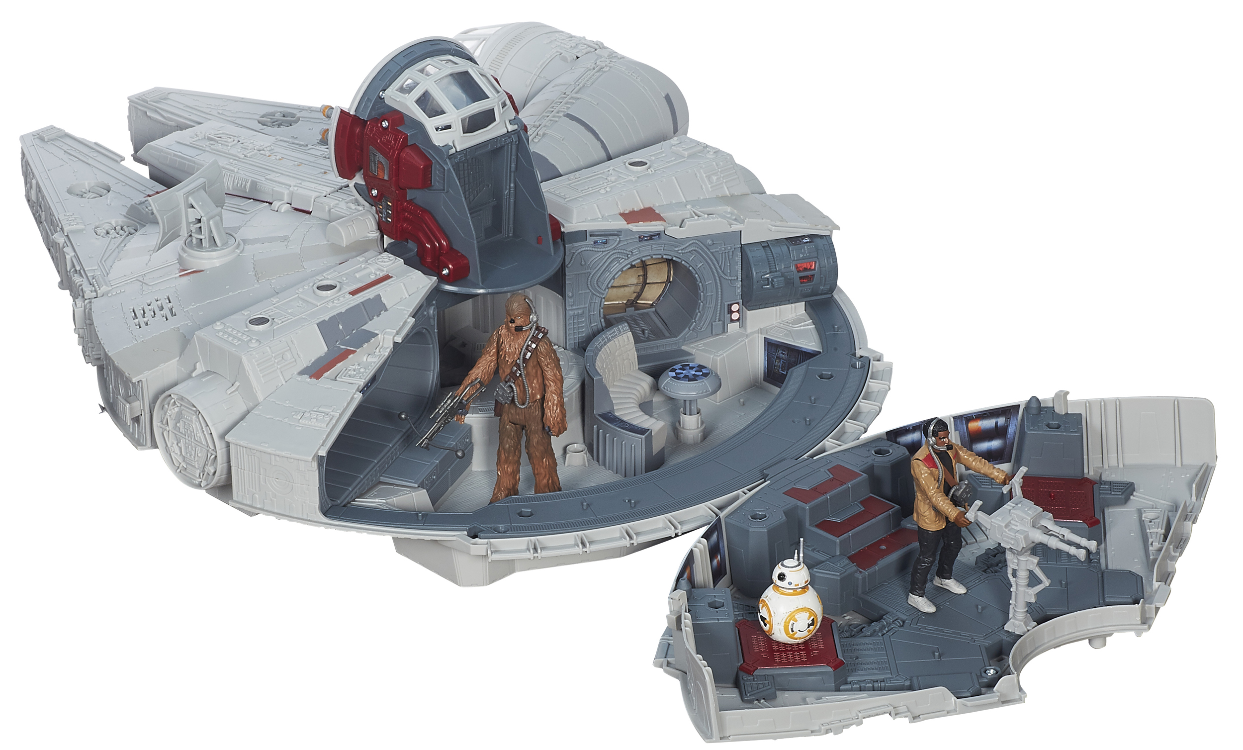 Battle Action Millennium Falcon designed by UC alum Mark Boudreaux.