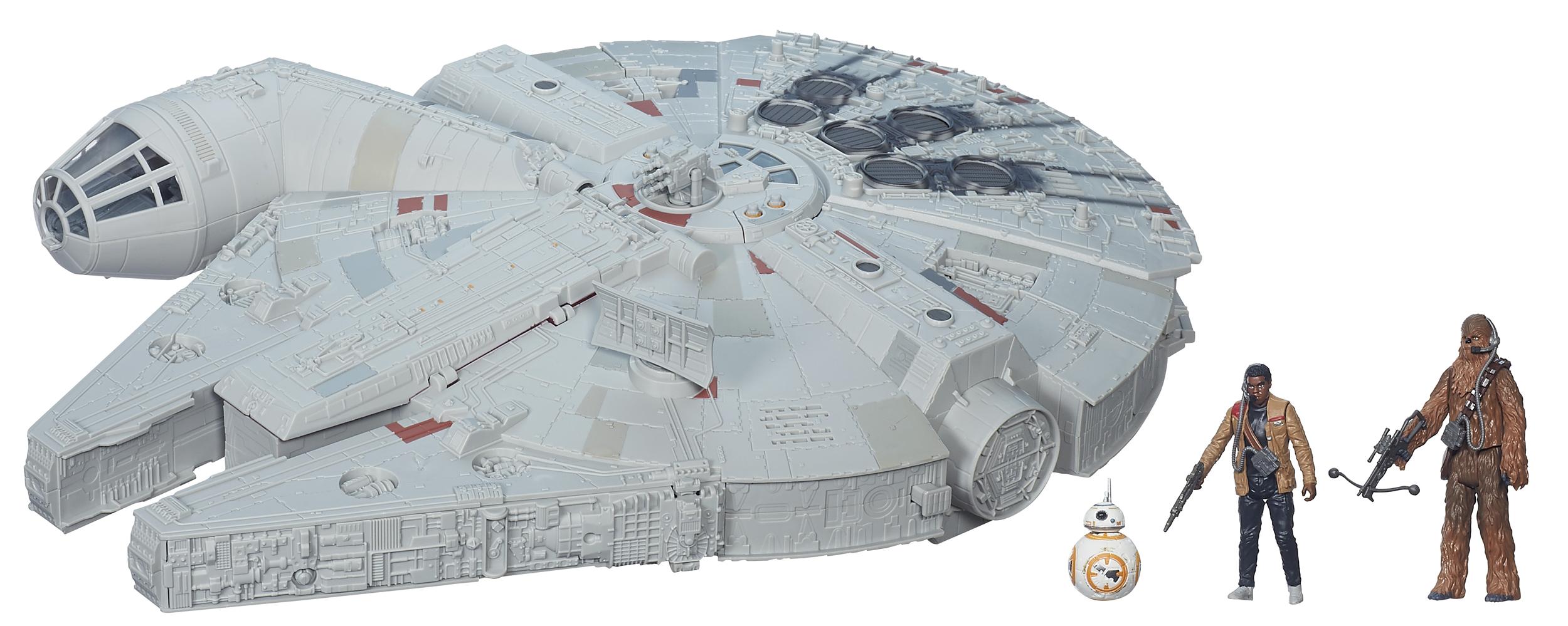 Imange of the Millennium Falcon