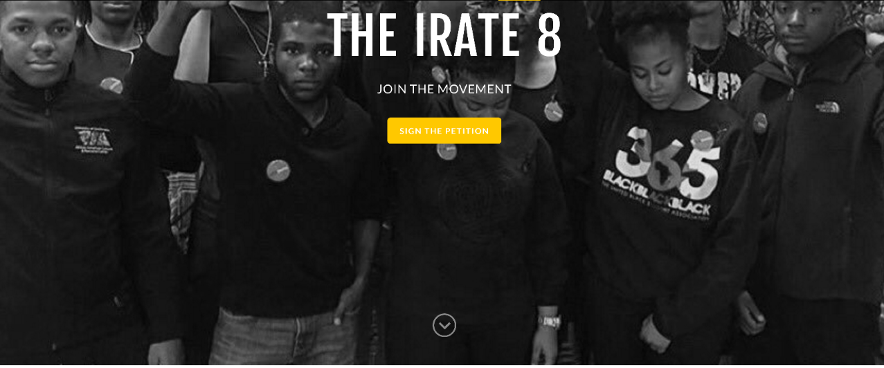 The Irate 8 used social media to advance their cause.