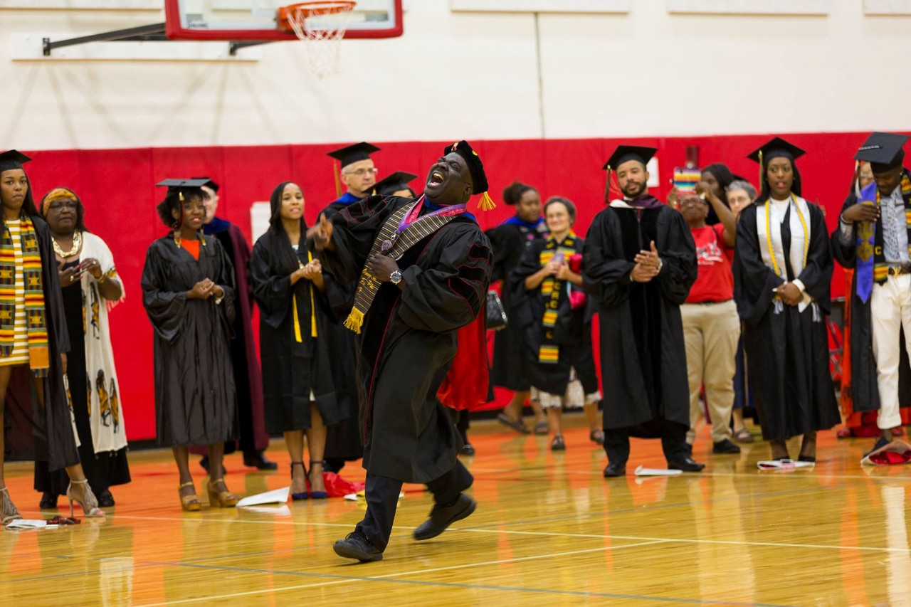 Transitions is a first-year experience program that uses a rites of passage curriculum to bring a higher retention and graduation rate for African-American students at UC.