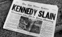 Old newspaper declares JFK's assasination across front page