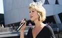Video: Miss America sings at Homecoming, 2008