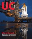Click to read an entire issue about UC's NASA connections.
