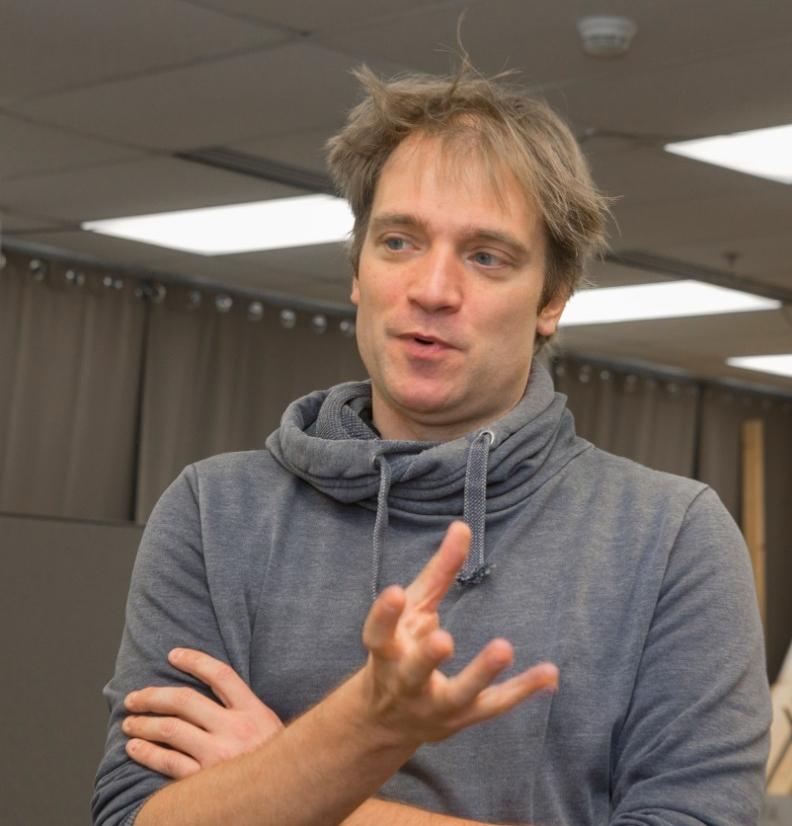 UC professor Dieter Vanderelst