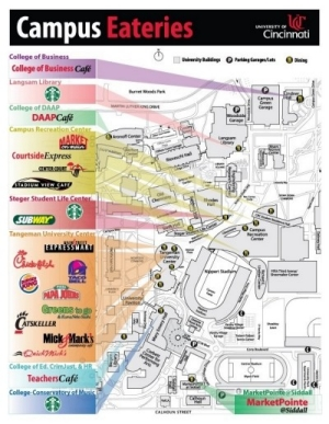 UC Dining Map