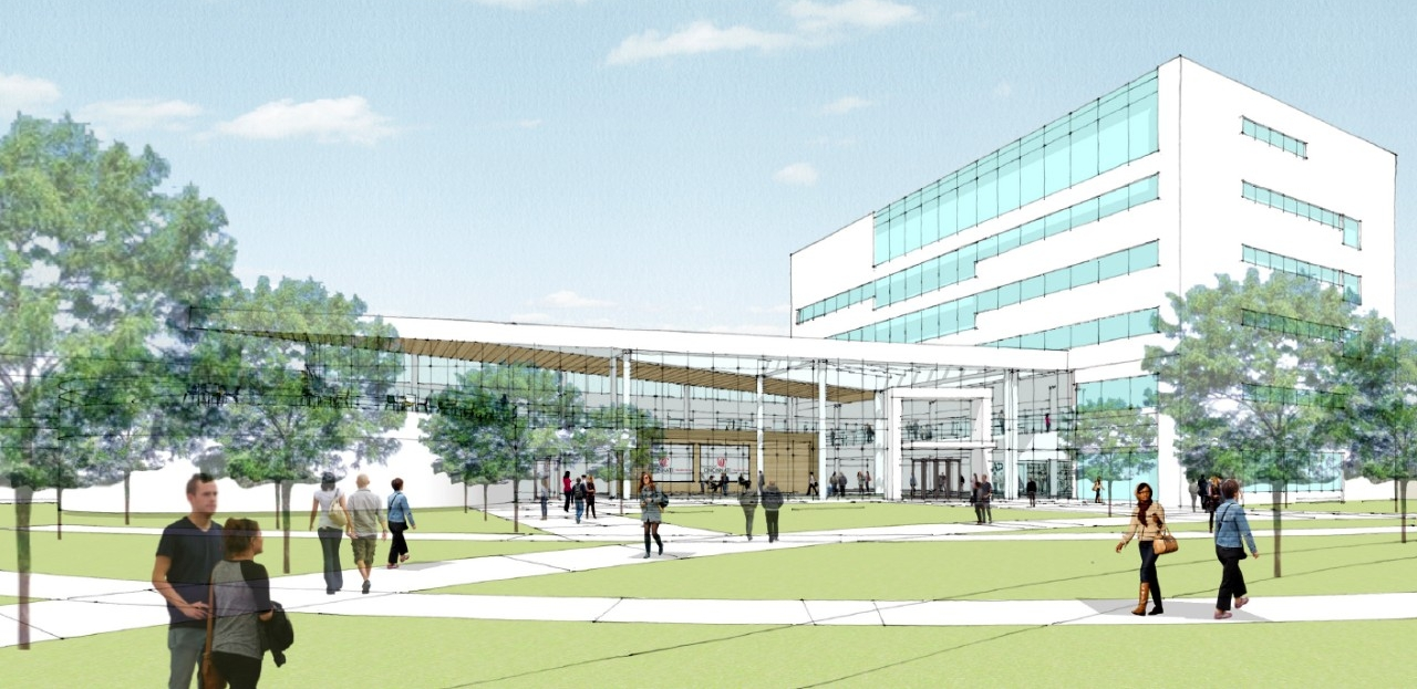 Rendering of the proposed new UC College of Law home in the former Lindner Hall