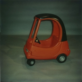Cozy Coupe toy car.