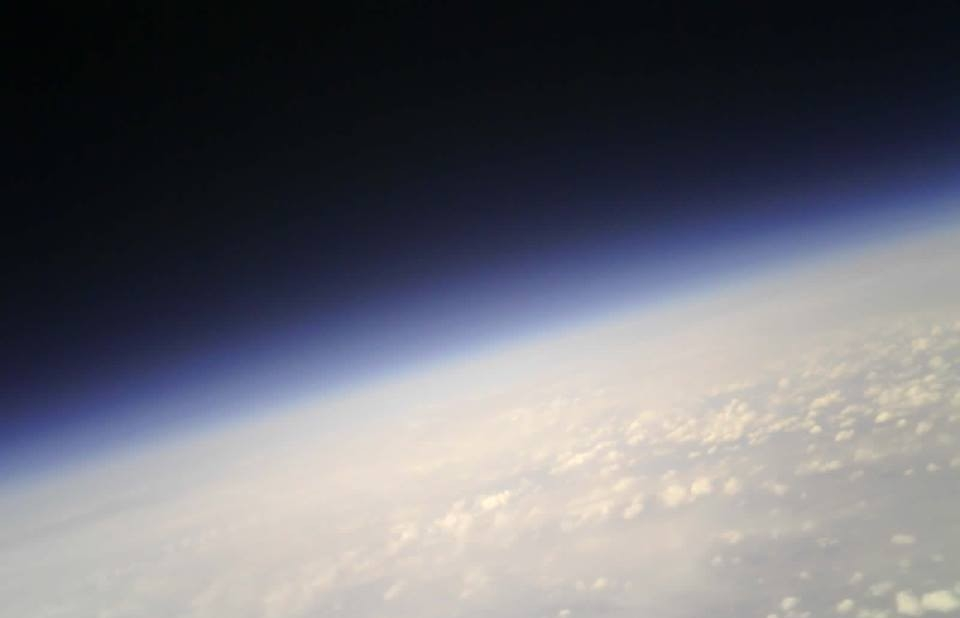 The UC Cubecats captured photos from 96,000 feet during a successful high-altitude balloon mission in 2017.