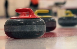 Granite stone for curling
