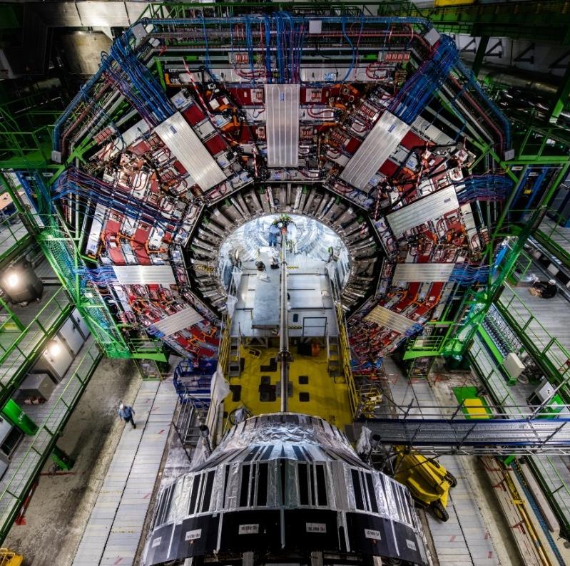 CERN's large hadron collider. (CERN)