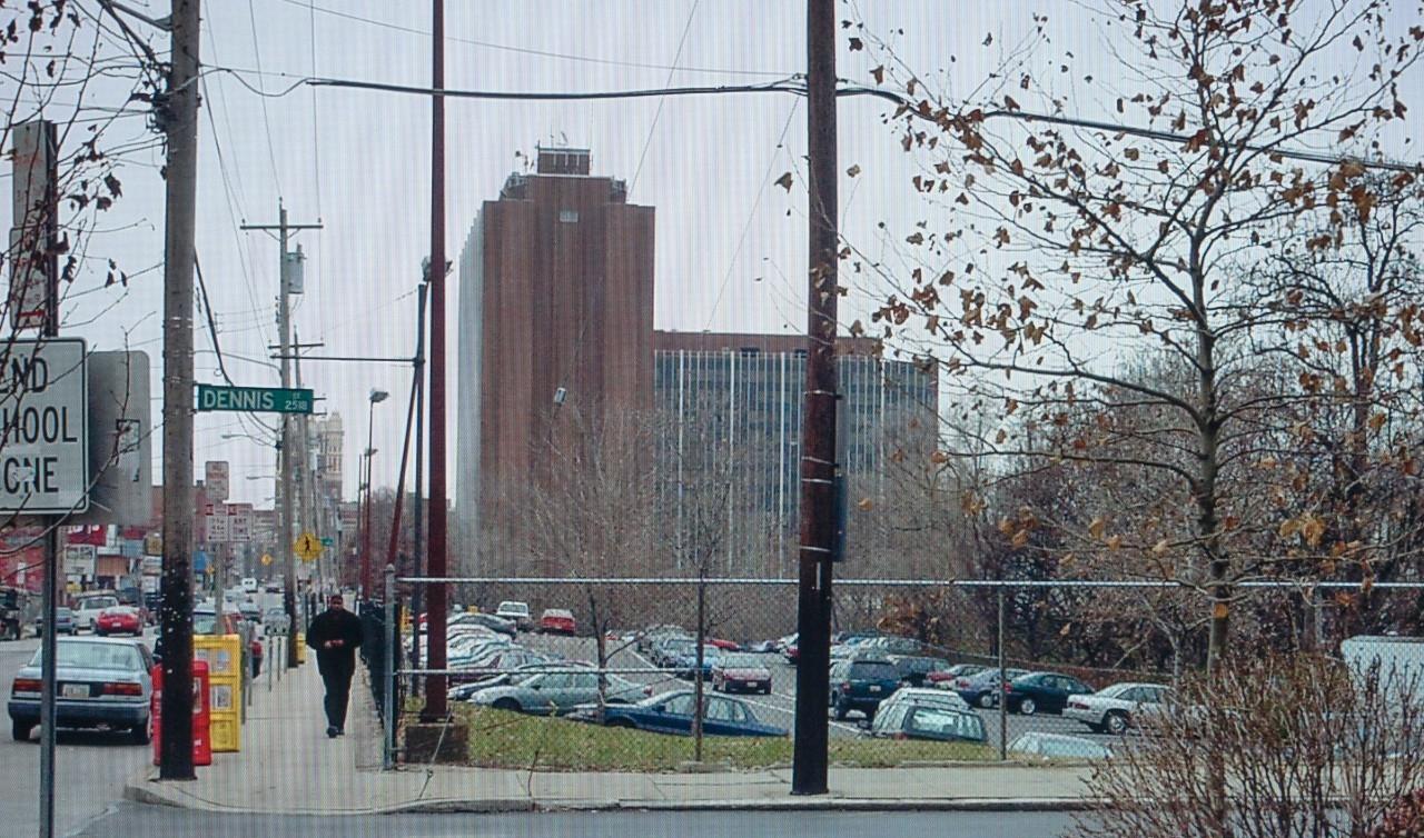 Former View of Dennis Street off of Calhoun Street