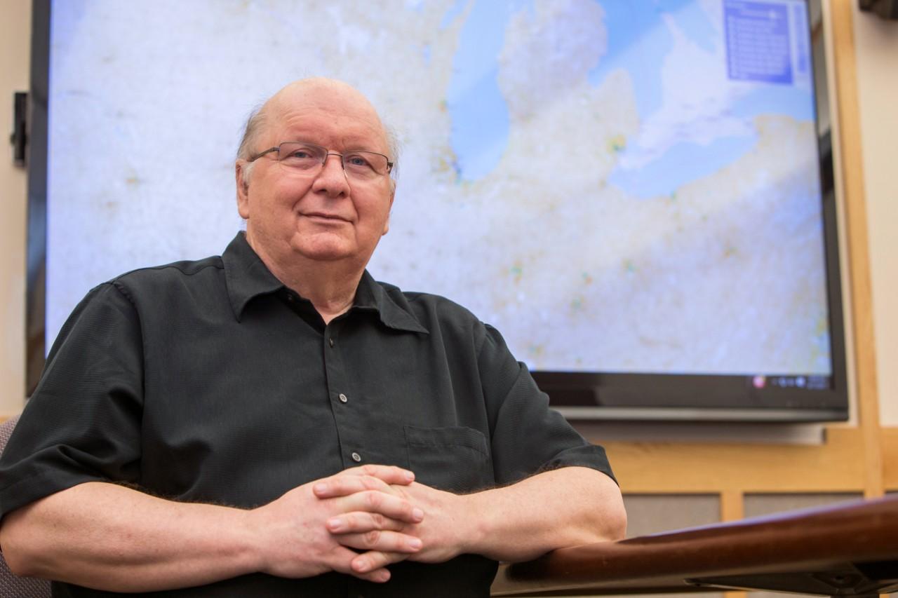 UC geography professor Tomasz Stepinski.