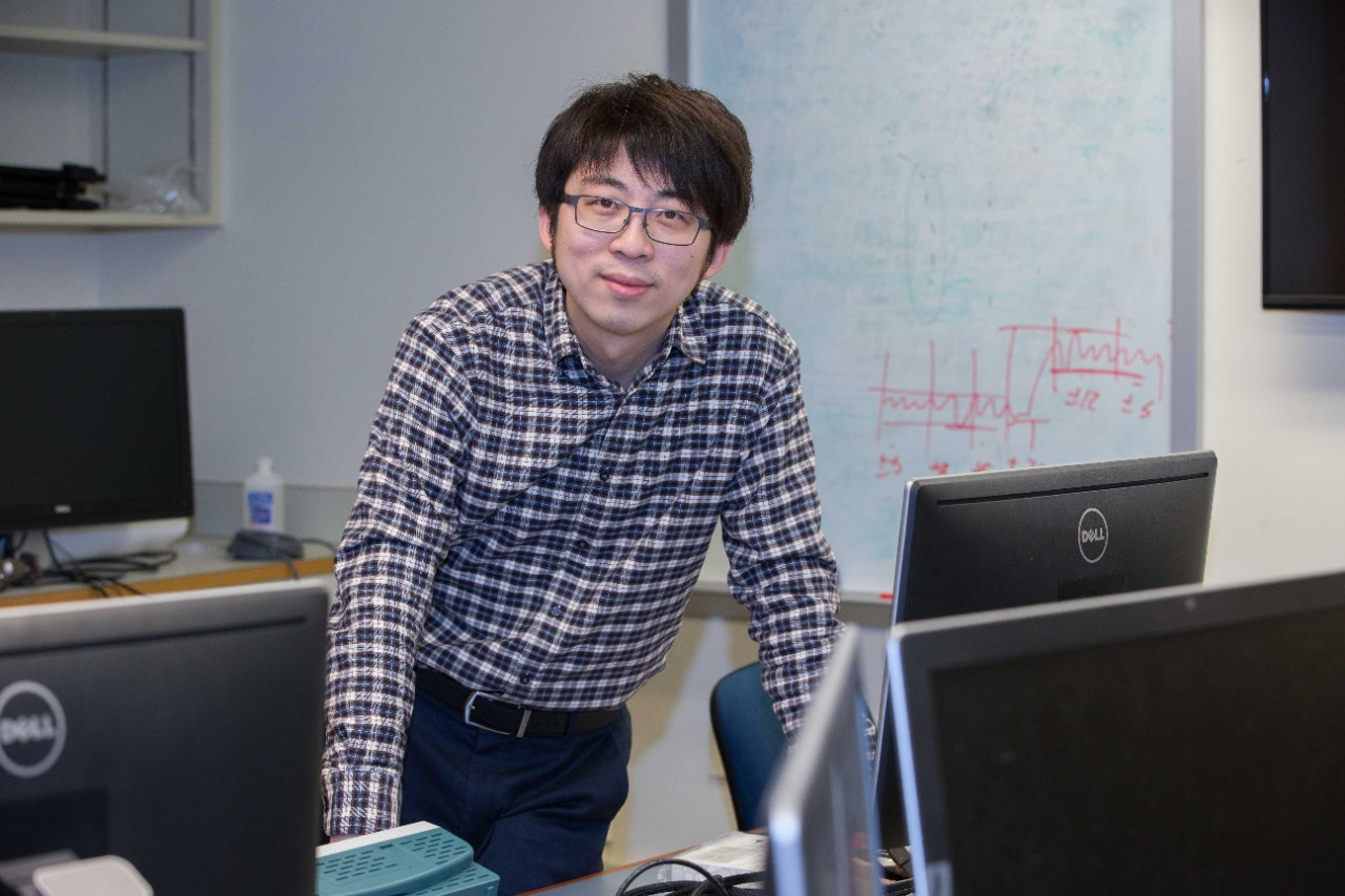 UC engineering professor Jiaqi Ma has published numerous papers on autonomous vehicles, connected and automated traffic systems and other smart transportation.