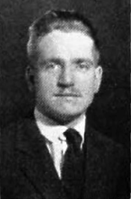 University of Cincinnati alum Joseph Sagmaster in a portrait from the 1925 yearbook.