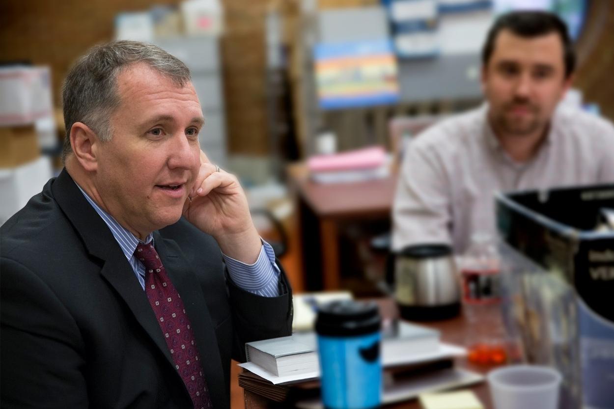 Mark Godsey from the Ohio Innocence Project