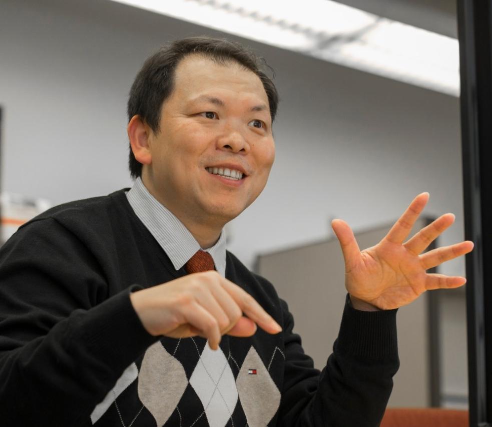 UC professor Nan Niu