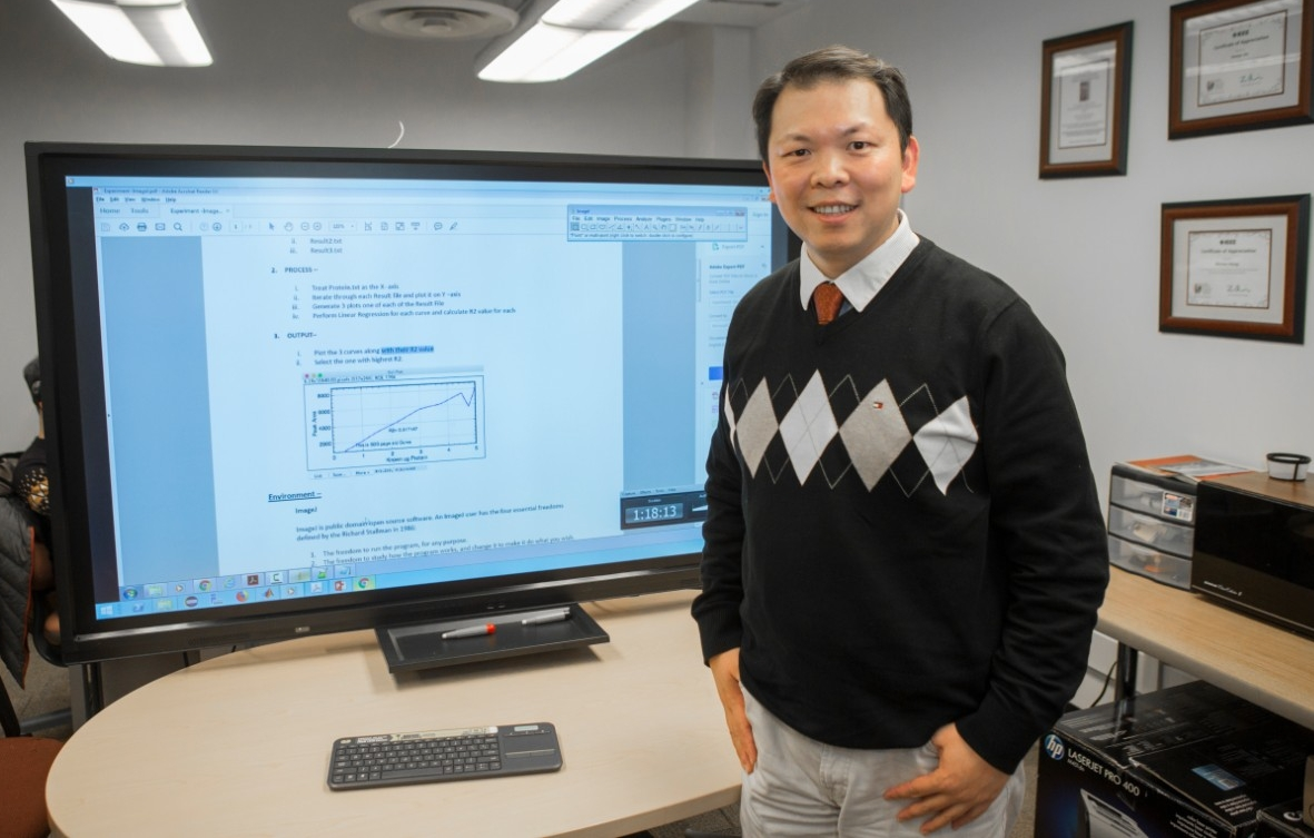 UC computer science professor Nan Niu is studying how software engineers find the information they need.